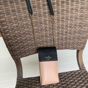 Kate Spade North South Leather Phone Crossbody Bag
